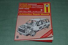 Dodge Caravan, Plymouth Voyager, & Chrysler Town & Country~1984-1995 Manual
