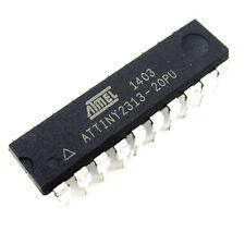 1PCS ATMEL ATTINY 2313 ATTINY2313-20PU MCU AVR CHIP IC DIP-20