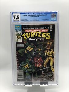 Teenage Mutant Ninja Turtles Adventures #1 CGC 7.5 Newsstand Edition (1988) TMNT