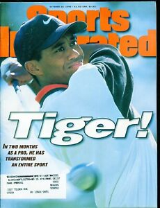 Sports Illustrated October 1996 Tiger Woods Full Issue VG+ NO RESERVE