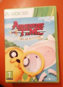 XBOX 360 GAME ADVENTURE TIME FINN & JAKE INVESTIGATIONS LOVELY DETECTIVE GAME