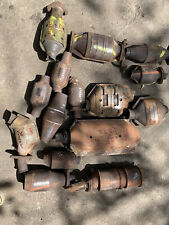 Lot Of 15 Scrap OEM Catalytic Converter Ford Nissan Toyota Platinum Recycle PGM