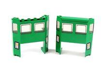 LEGO 2x Tren Repuesto Crocodilo Tren Locomotora Tren Verde parabrisas de 7898