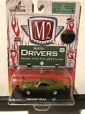 1/64 M2 AUTO DRIVERS 1968 PONTIAC FIREBIRD 400 H.O. DARK GREEN