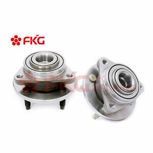 (2) Front Wheel Hub Bearing For 2005 - 2010 Chevy Cobalt 2003 - 2007 Saturn Ion