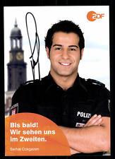 Serhat Cokgezen Notruf Hafenkante Autogrammkarte Original Signiert ## BC 45482