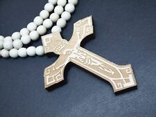 New Hip-hop fashion good wood nyc Necklace ( Jesus On The Cross )