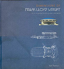 Dimensions of Frank Lloyd Wright, Thomson, Iain, Good Book