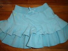 Ralph Lauren Polo BABY BLUE TIERED SKIRT SIZE 6 EUC SPRING SUMMER MINT DRESSY