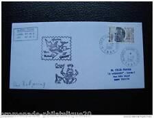 TAAF carta 1/12/2001 - sello Yvert y Tellier nº280 (G) (cy2)