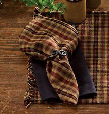 Country PRIMITIVE SPICE Fabric Napkin Rustic Farmhouse Kitchen Linen Decor
