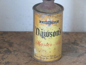 DAWSONS. MASTER ALE.    SOLID. COLORFUL IRTP.  CONE TOP