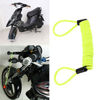 120cm Security Bike Scooter Motorcycle Motorbike Disc Lock Reminder Cable RY