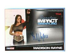 TNA Madison Rayne 2011 Signature Impact GOLD Autograph Card SN 10 of 25