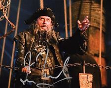 GFA Pirates of the Caribbean * IAN McSHANE * Signed 8x10 Photo AD2 COA