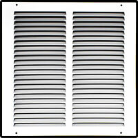 Heavy Duty Steel Return Air Grille | HVAC Vent Cover Grill, White