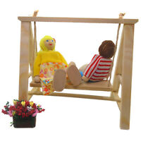 1/12 Dollhouse Miniature Furniture Swing Leisure Hammock Doll House Decor Toy YK