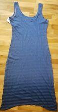 NWT Columbia Beach Bound MAXI DRESS BLUE BLUEBELL STRIPES M MEDIUM $90 SOLD OUT!