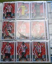 Match Attax - 2013/2014 - Sunderland - 15x Cards - Exc Con - Free Post!