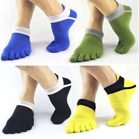 Soft Cotton Design Unique Sports Toe Fancy Breathable Socks Men Finger Five