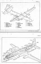 Canadair CL-44 Yukon Manual historic archive rare 1960's pilot Vintage aircraft