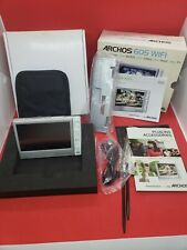 Archos 605 WiFi Silver Digital Media Player - For Parts / Not Working