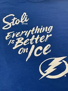 Stoli - Tampa Bay Lightning - Everything is Better on Ice - NEW- XL