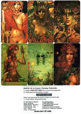 Alberto Belasco's Goddess 6 phone card set   BV$72