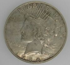 1928 S Peace Dollar Very Fine