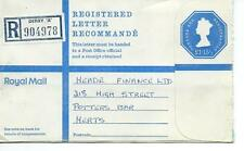 "GB - REGISTERED ENVELOPE - SIZE G - £1.15.5p - DERBY ""A"" - 904978"