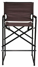 Aluminum Folding Tall Director's Chair by Trademark Innovations