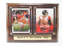 Matt Ryan Atlanta Falcons Holz Wandbild 20 cm,Plaque NFL Football