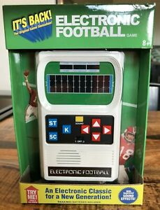 MISB 2016 ELECTRONIC FOOTBALL GAME HAND HELD