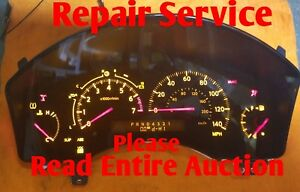 REPAIR Service FOR A 2004- 2007 Infinity QX56 Instrument Cluster Speedometer