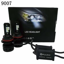80W 19200lm 2 Sides CSP LED Headlight Kit 9007 HB5 High Low Beam 6000K Bulbs US