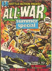All-War Monthly no # 1981-Giant Edition-WWII-Nazi-Japanese-VG