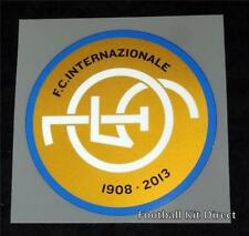 Inter Milan 105th Anniversary Football Shirt Badge/Patch Limited Edition 2012/13