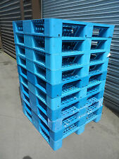1100x1100 PLASTIC PALLETS - IDEAL TO BUILD SOAKAWAY / DRAINAGE - SET OF 13