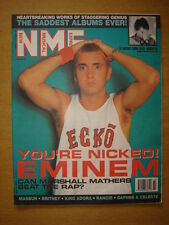 NME 2000 AUG 12 EMINEM MANSUN BRITNEY RANCID KING ADORA