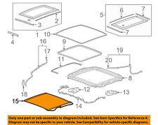 Buick GM OEM 10-16 LaCrosse Sunroof Sun Roof-Sunshade Shade Cover 23298176
