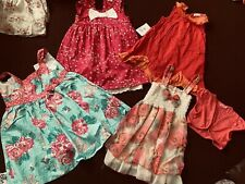 girls summer bundle Of Dresses 3-4 YEARS