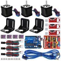 3D Printer CNC Controller Kit Fit Arduino Longruner GRBL Shield Board LKB02 V3.0