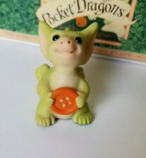 """""""Belly Button"""" Whimsical World of Pocket Dragons by Real Musgrave with Box"""