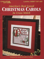 Christmas Carols America's Best Loved #2927 Counted Cross Stitch Color Charts