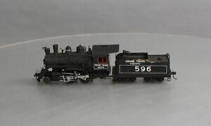 Custom-Built S Gauge Grand Trunk Pacific 2-4-0 Steam Locomotive #596