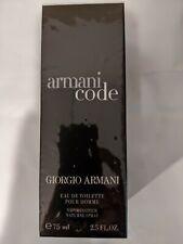 Armani Code Men by Giorgio Armani - Edt Spray 2.5 Oz 75ml Eau De Toilette