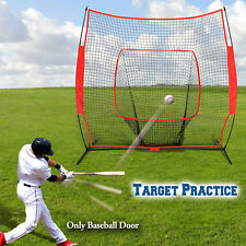7'x7' Baseball Net Cages Sport Play Elevated Portable Soft Toss Indoor Outdoor