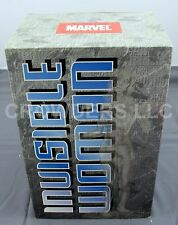 "Marvel Fantastic Four INVISIBLE WOMAN STATUE 12"" Clear Variant Bowen Designs '00"
