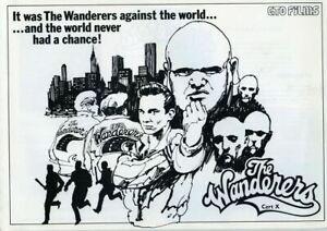 The Wanderers Original UK Press Book Ken Wahl Karen Allen Poster art Photos etc