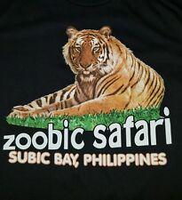 Zoobic Safari subic bay, Philippines tiger t shirt medium for men